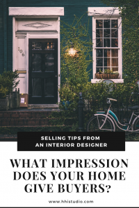 Selling your home? Make sure it's giving buyers a good first impression!