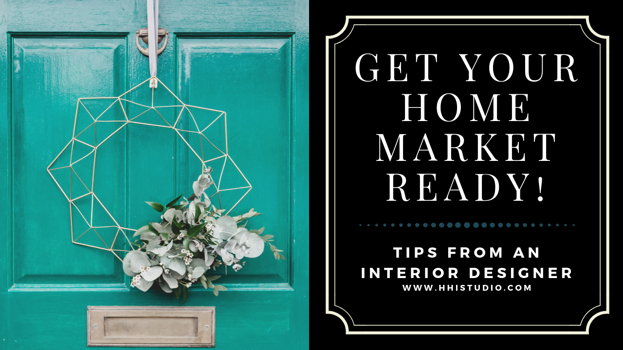 Interior designer gives 5 tips to get your home ready to sell.